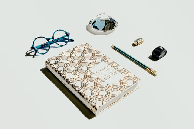 Image of Notebook, Glasses and Pencil for Review Tips for Exams